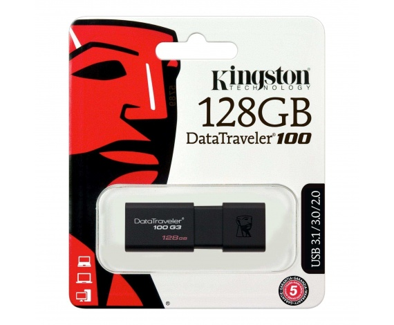 128GB USB3.0 DT100G3/128GB KINGSTON