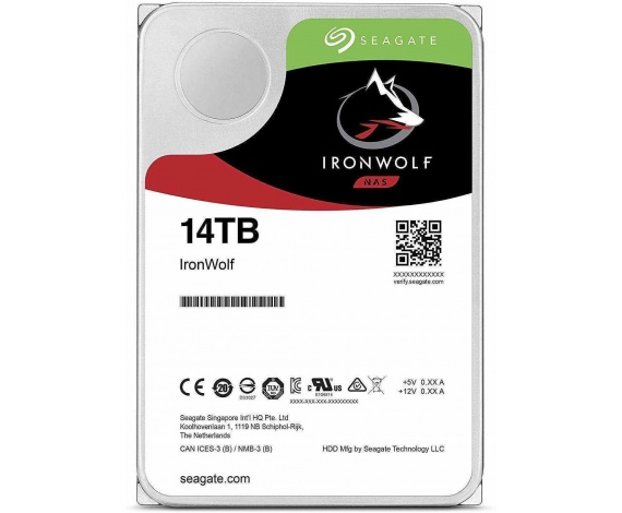 14TB SEAGATE IRONWOLF 7200 256M NAS ST14000VN0008