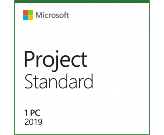 MICROSOFT PROJECT STANDART 2019 - ESD 076-05785