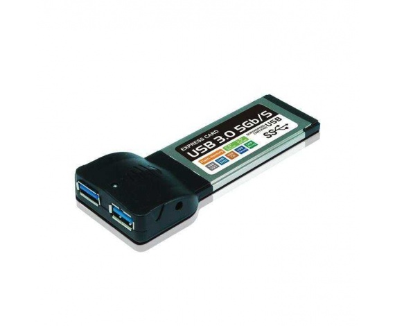 HIPER UH302E USB 3.0 EXPRESS CARD 2 PORT
