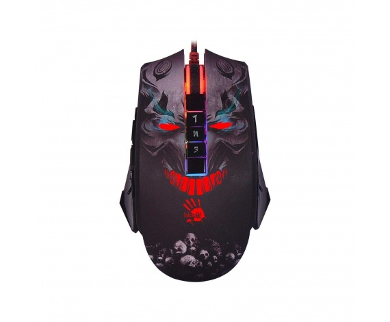BLOODY P85 SKULL MULTI 5000CPI-RGB 5K GAMER MOUSE