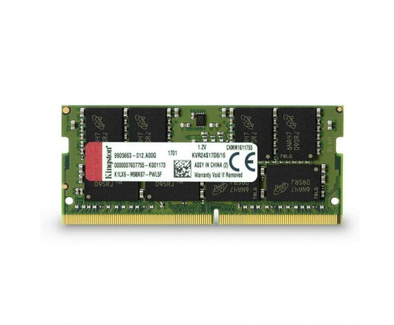 16GB DDR4 2400Mhz SODIMM KVR24S17D8/16 KINGSTON