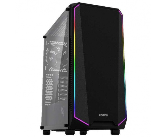 ZALMAN K1 TEMPERED RGB FAN ATX MIDT KASA  (POWERSIZ)