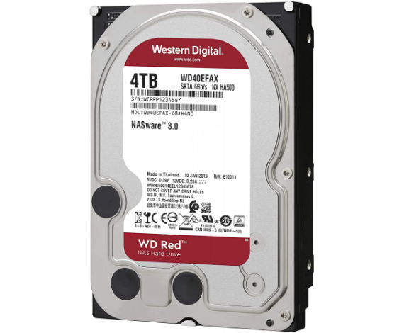 "WD RED 3,5"" 4TB 256mb 7/24-NAS-SERVER (WD40EFAX) HDD"