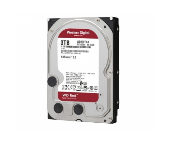 "WD RED 3,5"" 3TB 256mb 7/24-NAS-SERVER (WD30EFAX) HDD"