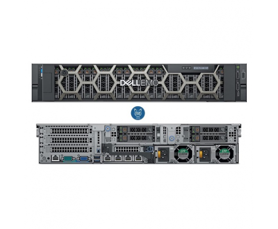 DELL PER740TR5_VSP R740 Intel Xeon Silver 4110 16Gb Ram, 2x600Gb HDD, 495W Power, 2U Kasa RACK SERVER