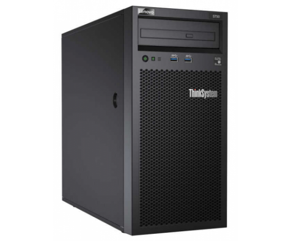 LENOVO 7Y48A007EA ST50 Intel Xeon E-2124G 8Gb Ram, 2x2Tb HDD, 250W Power, Free Dos, TOWER SERVER
