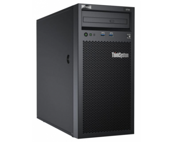 LENOVO 7Y48A02DEA ST50 Intel Xeon E-2126G 16Gb Ram, 2x2Tb HDD, 250W Power, Windows Essentials, TOWER SERVER