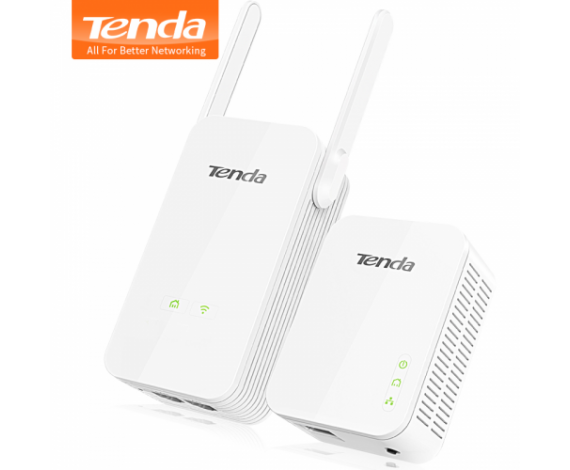 Tenda PH5 Powerline 3Port Wifi 300Mbps Kit