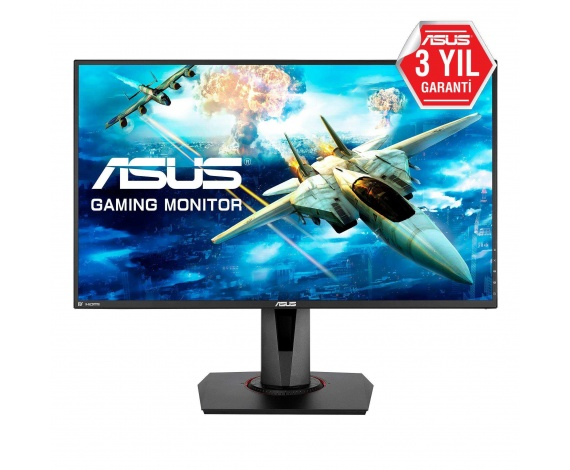 27 ASUS VG278QR FHD 0.5MS 165HZ FREESYNC G-SYNC HDMI DP DVI MM VESA GAMING