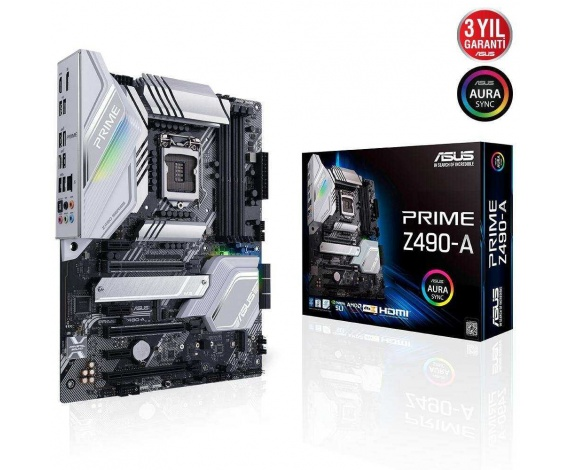 ASUS PRIME Z490-A DDR4 4800(O.C.)/2133Mhz ATX 1200p