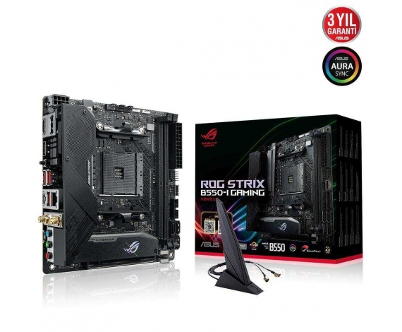 ASUS ROG STRIX B550-I GAMING DDR4 5100Mhz mATX AM4